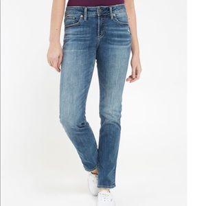 Silver Jeans - Avery Slim Straight Leg sz 28
